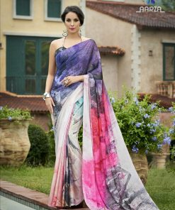 Latest Collection - Best linen saree By Karagiri | FLAT 70% OFF