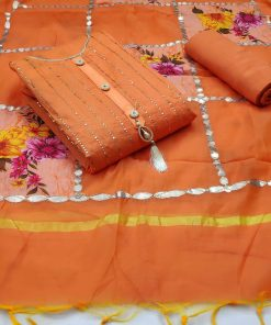 Dress Material Suit For Women chanderi suits wholesale rate